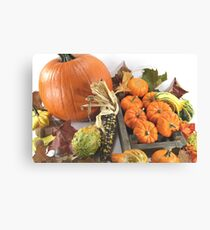 Happy Thanksgiving.  Canvas Print