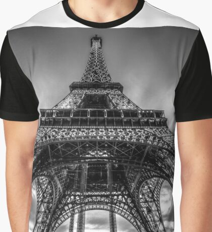 Eiffel Tower 9 Graphic T-Shirt