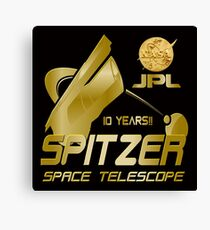 10th Anniversary of the Spitzer Space Telescope Canvas Print