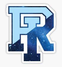 University of Rhode Island URI galaxy logo Sticker