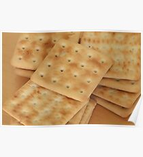 dry  biscuits cracker Poster