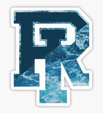 University of Rhode Island URI wave logo Sticker