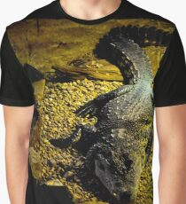 Croc in a Cave Graphic T-Shirt