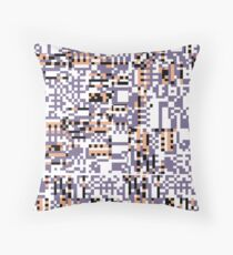 Missing Pattern 2 Throw Pillow