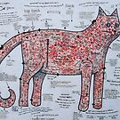 The spotty Cat Pattern by Bonnie coad