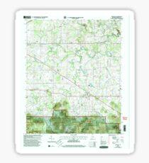 USGS TOPO Map Alabama AL Oakville 304713 2000 24000 Sticker