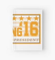 Peyton Manning para el presidente Campaign Sticker Cuaderno de tapa dura