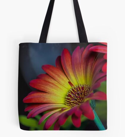 Red Yellow Flower Tote Bag