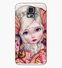 Lemurisches Mädchen Hülle & Klebefolie für Samsung Galaxy