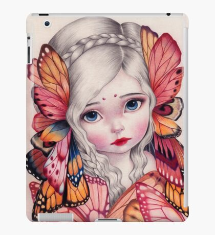 Lemurian Girl iPad Case/Skin