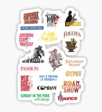 Sondheim Musicals  Sticker