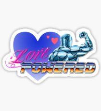 Love Powered Sticker