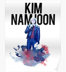 Namjoon Water Couleur Poster