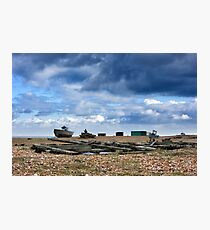 Dungeness Through a Prime Lens 15 Photographic Print