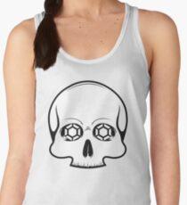 Defy Danger Skull - White Women's Tank Top