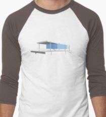 Camiseta ¾ estilo béisbol Casa de Farnsworth - Ludwig Mies van der Rohe (1951)