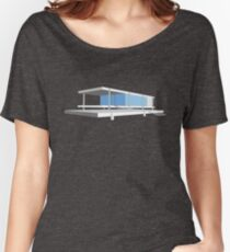 Farnsworth House - Ludwig Mies van der Rohe (1951) Women's Relaxed Fit T-Shirt