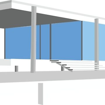Farnsworth House - Ludwig Mies van der Rohe (1951) by trapezedevil