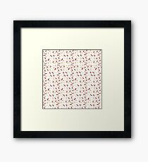 Eggs and Bacon with Spoons Framed Print