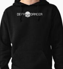 Defy Danger Logo - Black Pullover Hoodie