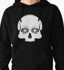 Defy Danger Skull - Black Pullover Hoodie