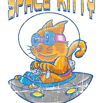 SPACE KITTY by caziman