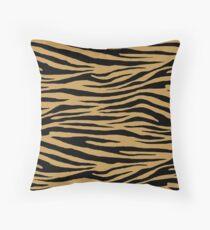 0615 Aztec Gold Tiger Throw Pillow