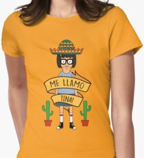 ME LLAMO TINA! Womens Fitted T-Shirt
