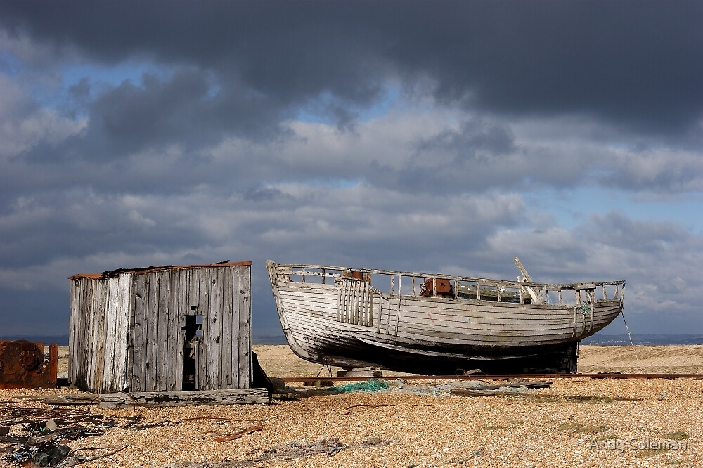 Dungeness Through a Prime Lens 09 by Andy Coleman