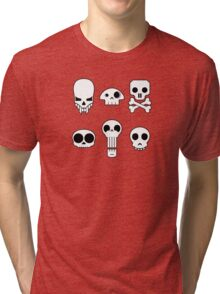 All skulls, all the time. Tri-blend T-Shirt