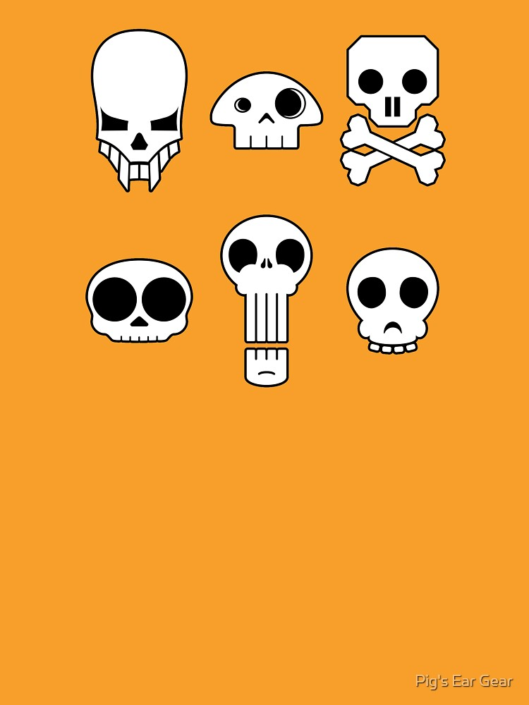 All skulls, all the time. by adorman