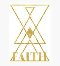 Faith. Photographic Print