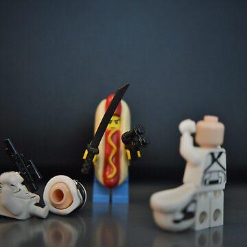 Hot Dog Samurai by Ricie23