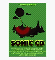Sonic CD Photographic Print
