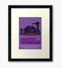 Sonic The Hedgehog 3 Framed Print