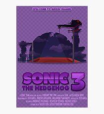 Sonic The Hedgehog 3 Photographic Print