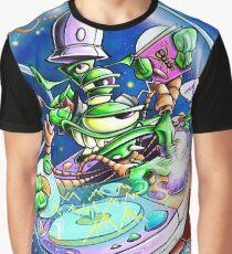Yedi Fresh ( JELLYFISH LAZER FACE ) Graphic T-Shirt