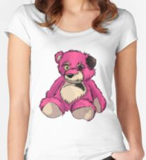 The Pink Teddybear Women's Fitted Scoop T-Shirt