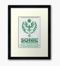 Sonic The Hedgehog [2006] Framed Print