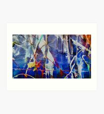Abstract composition 236 Art Print