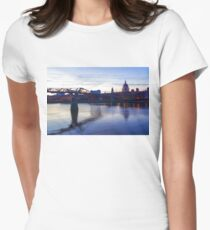 Impressions of London in Purple T-Shirt