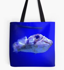 Happy little Puffer Fish Tote Bag
