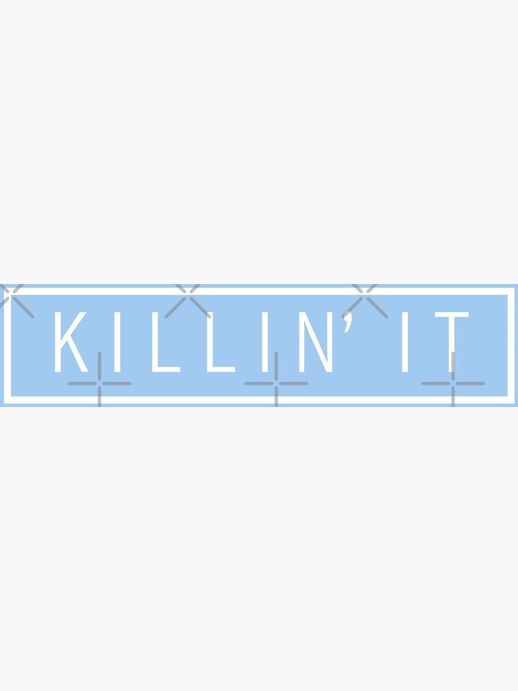tötet es - Pastellblau von glorialam