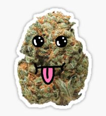 NUG BUDZ - Stupid Face Sticker