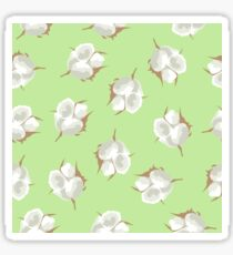 Cotton Blossom Toss in Key Lime Sticker