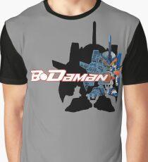 Cobalt Blade Partial Wireframe Graphic T-Shirt