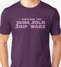 Ich habe die Jaina Solo Ship Wars überlebt Slim Fit T-Shirt
