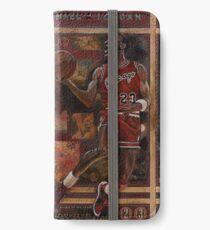 Michael Jordan iPhone Flip-Case/Hülle/Klebefolie