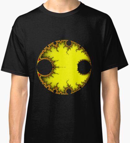Mandelbrot Orb Yellow Classic T-Shirt