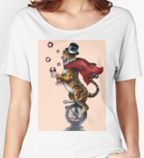 Juggling Tiger Women's Relaxed Fit T-Shirt